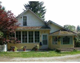 Photo 1: 12498 232ND ST in Maple Ridge: East Central House for sale : MLS®# V537676