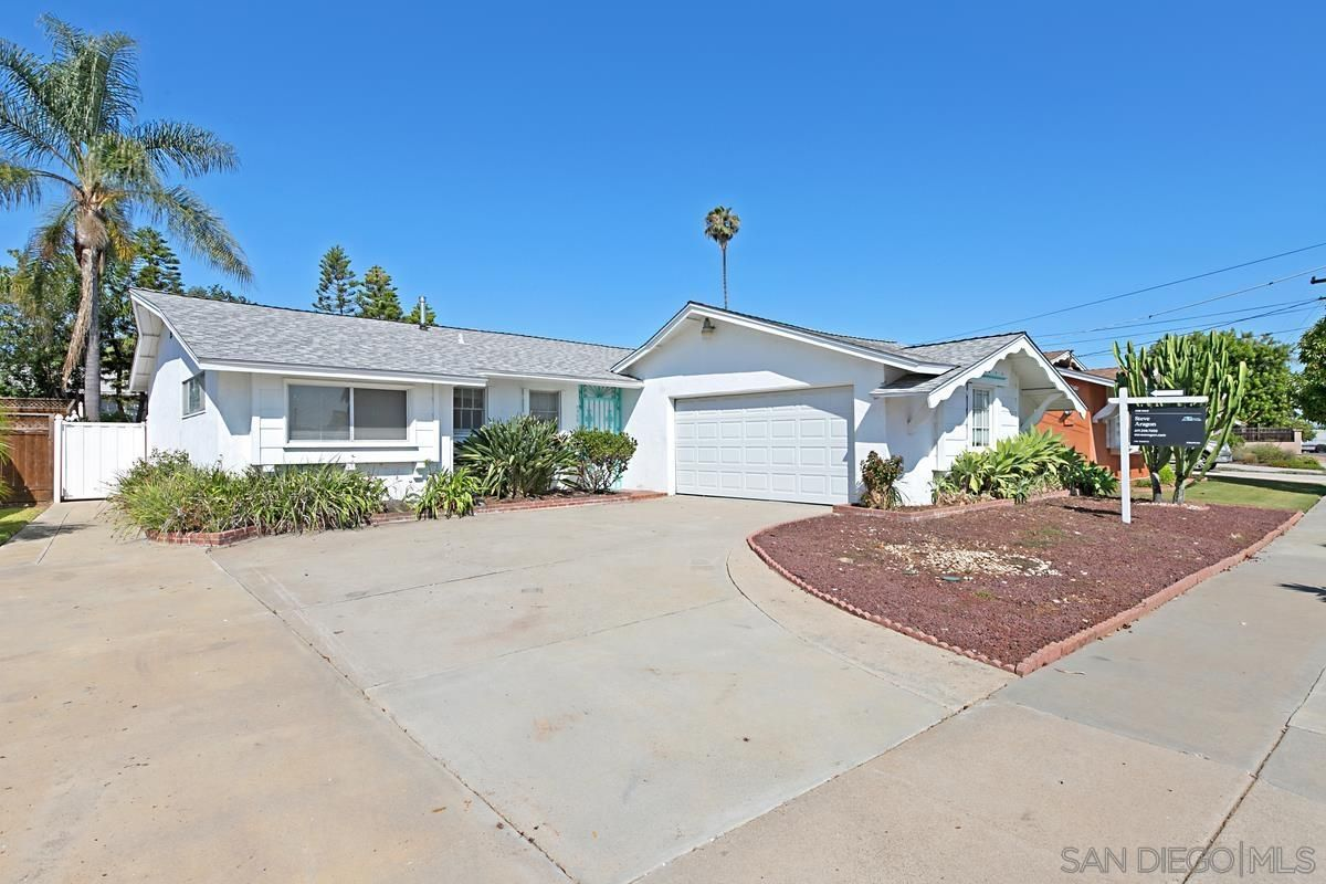Main Photo: SAN DIEGO House for sale : 3 bedrooms : 4960 New Haven Rd