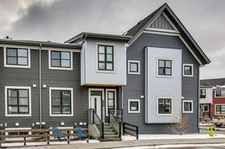 Main Photo: 4304 100 Walgrove Court SE in Calgary: Walden Row/Townhouse for sale : MLS®# A1083690