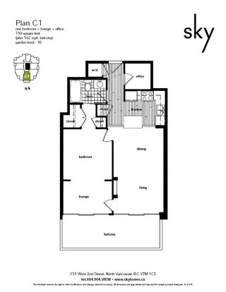 """Photo 33: 1502 151 W 2ND Street in North Vancouver: Lower Lonsdale Condo for sale in """"SKY"""" : MLS®# R2528948"""