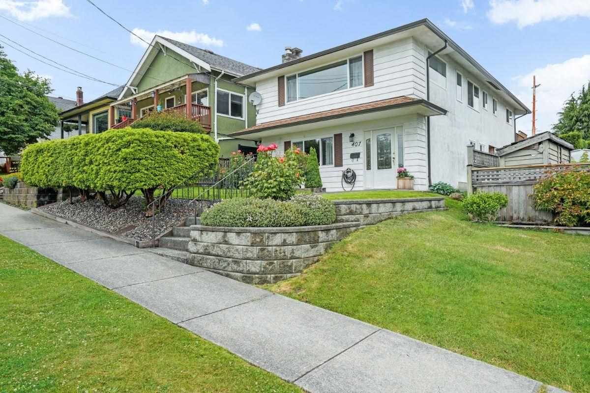 Main Photo: 407 SCHOOL STREET in New Westminster: The Heights NW House for sale : MLS®# R2593334