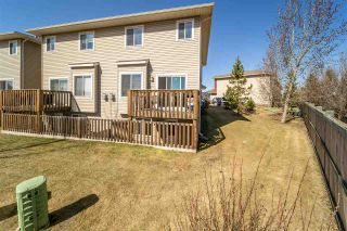Photo 29: 22 15151 43 Street in Edmonton: Zone 02 House Half Duplex for sale : MLS®# E4239001