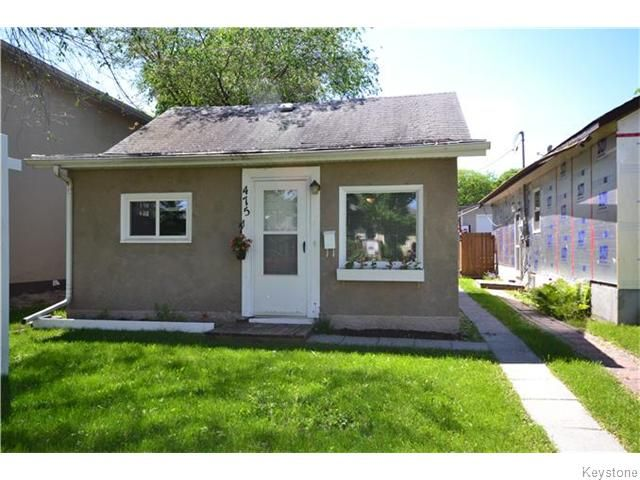 Photo 1: Photos: 475 De La Morenie Street in Winnipeg: St Boniface Residential for sale (2A)  : MLS®# 1615649