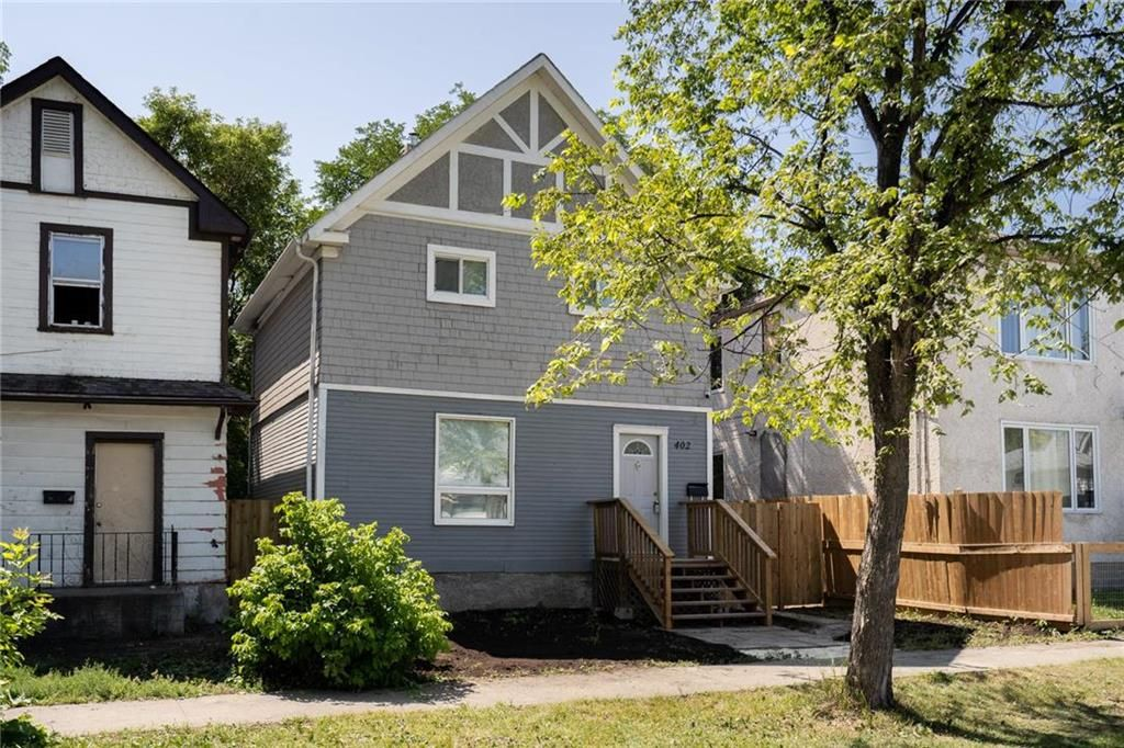 Main Photo: 402 Boyd Avenue in Winnipeg: North End Residential for sale (4A)  : MLS®# 202120545