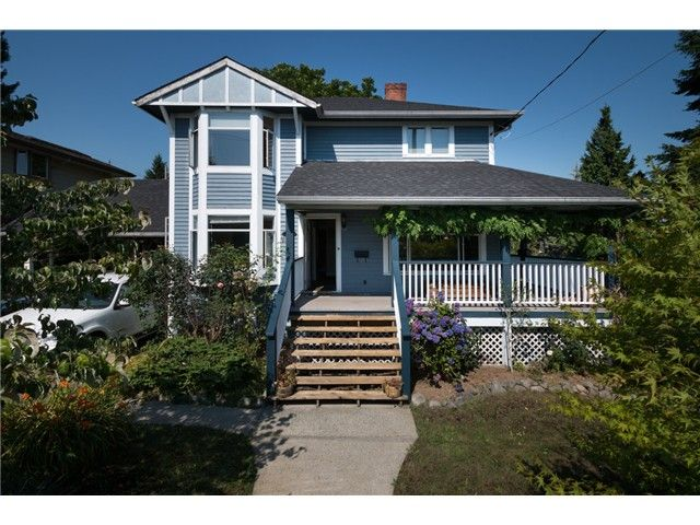 "Main Photo: 917 SECOND Street in New Westminster: GlenBrooke North House for sale in ""GLENBROOKE NORTH"" : MLS®# V1075704"