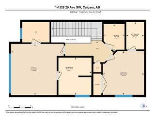 Photo 34: 1 1528 29 Avenue SW in Calgary: South Calgary Row/Townhouse for sale : MLS®# A1129714