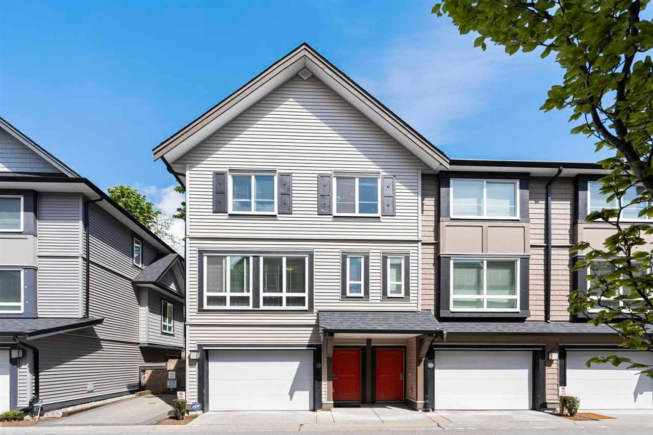 """Main Photo: 50 14555 68 Avenue in Surrey: East Newton Townhouse for sale in """"SYNC"""" : MLS®# R2578561"""
