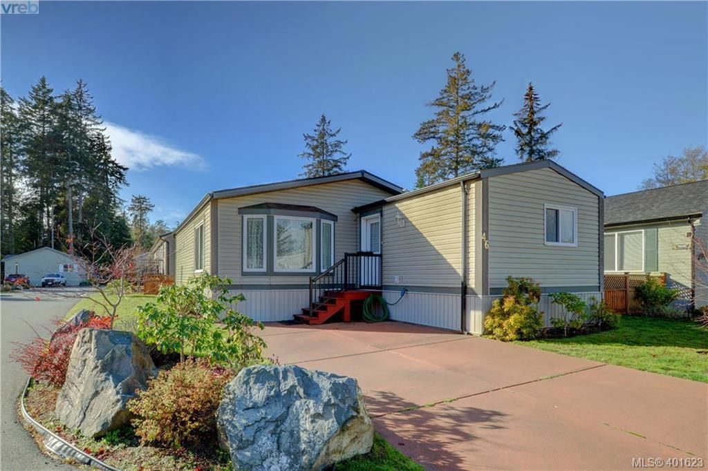 Main Photo: 46 7109 West Coast Rd in SOOKE: Sk Whiffin Spit Manufactured Home for sale (Sooke)  : MLS®# 801472
