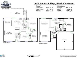 Photo 20: 1077 MOUNTAIN Highway in North Vancouver: Westlynn House for sale : MLS®# V1053444