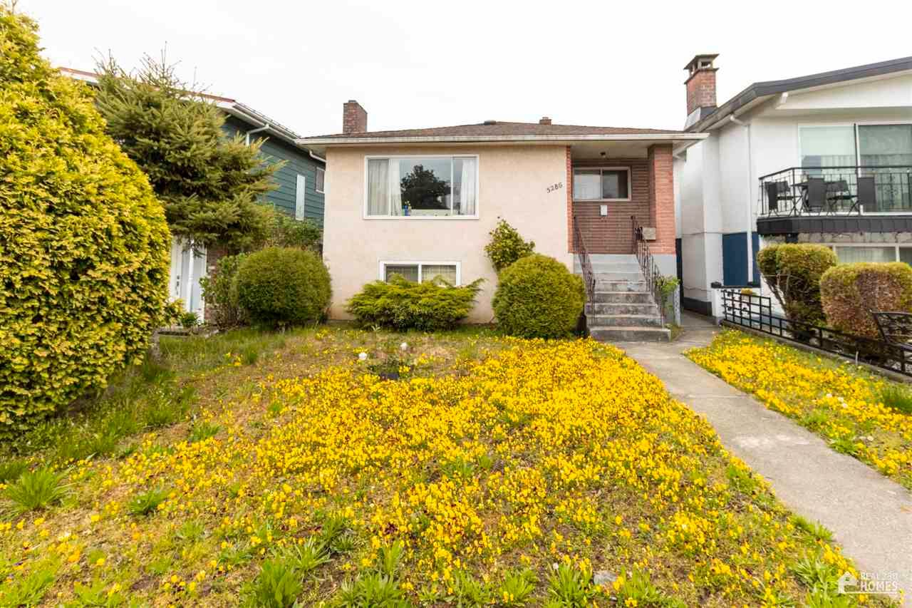 Main Photo: 5286 CLARENDON Street in Vancouver: Collingwood VE House for sale (Vancouver East)  : MLS®# R2572988