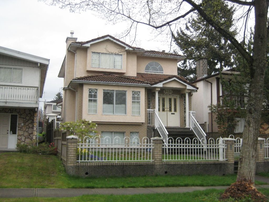 Main Photo: 5938 Sherbrooke Street in Vancouver: Knight House  (Vancouver East)  : MLS®# V805716