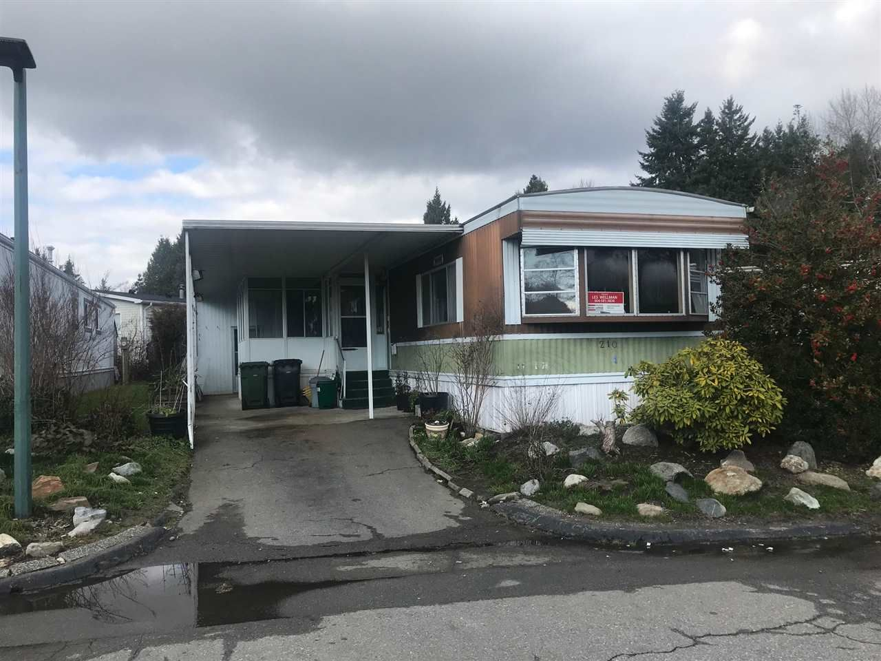 Main Photo: 210 1840 160TH Street in Surrey: King George Corridor Manufactured Home for sale (South Surrey White Rock)  : MLS®# R2436510