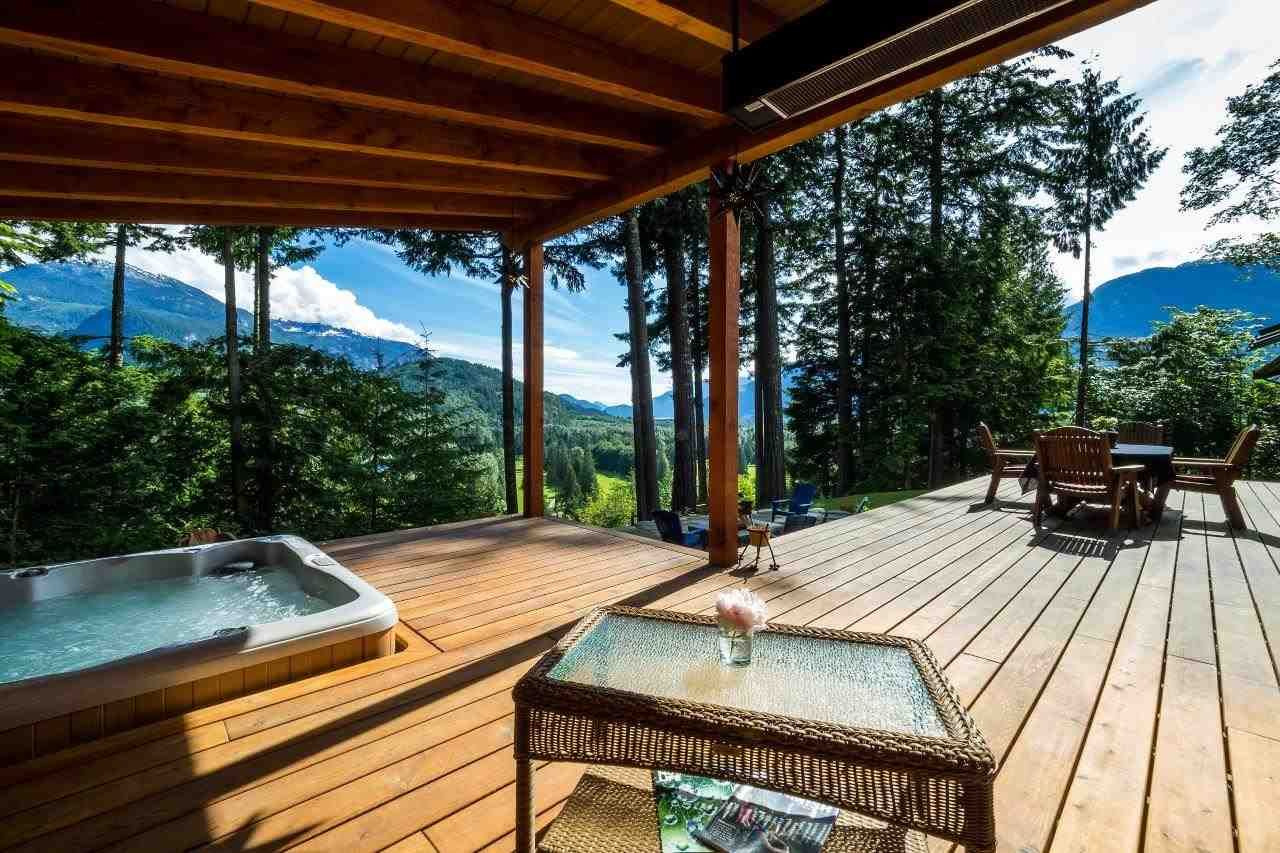 Expansive Deck with the best view in town! Heated   and lit!