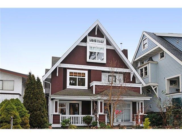 """Main Photo: 1865 E 7TH Avenue in Vancouver: Grandview VE 1/2 Duplex for sale in """"""""THE DRIVE"""""""" (Vancouver East)  : MLS®# V863836"""