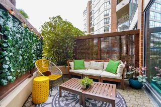 """Photo 2: 102 1450 PENNYFARTHING Drive in Vancouver: False Creek Condo for sale in """"Harbour Cove"""" (Vancouver West)  : MLS®# R2560607"""