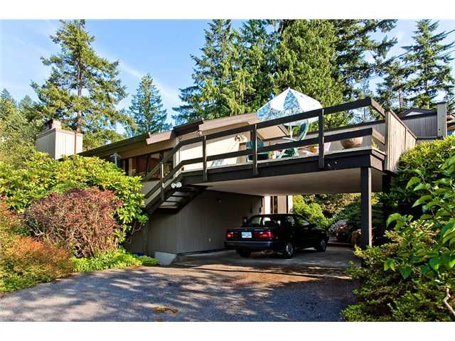 Main Photo: 6890 HYCROFT Road in West Vancouver: Whytecliff House for sale : MLS®# V963512