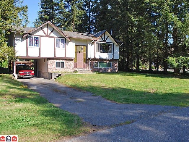 "Main Photo: 4060 202A ST in Langley: Brookswood Langley House for sale in ""BROOKSWOOD"" : MLS®# F1014092"