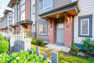 """Photo 1: 9 16127 87 Avenue in Surrey: Fleetwood Tynehead Townhouse for sale in """"Academy"""" : MLS®# R2518411"""