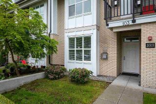 """Photo 2: 103 3788 NORFOLK Street in Burnaby: Central BN Townhouse for sale in """"PANACASA"""" (Burnaby North)  : MLS®# R2576806"""