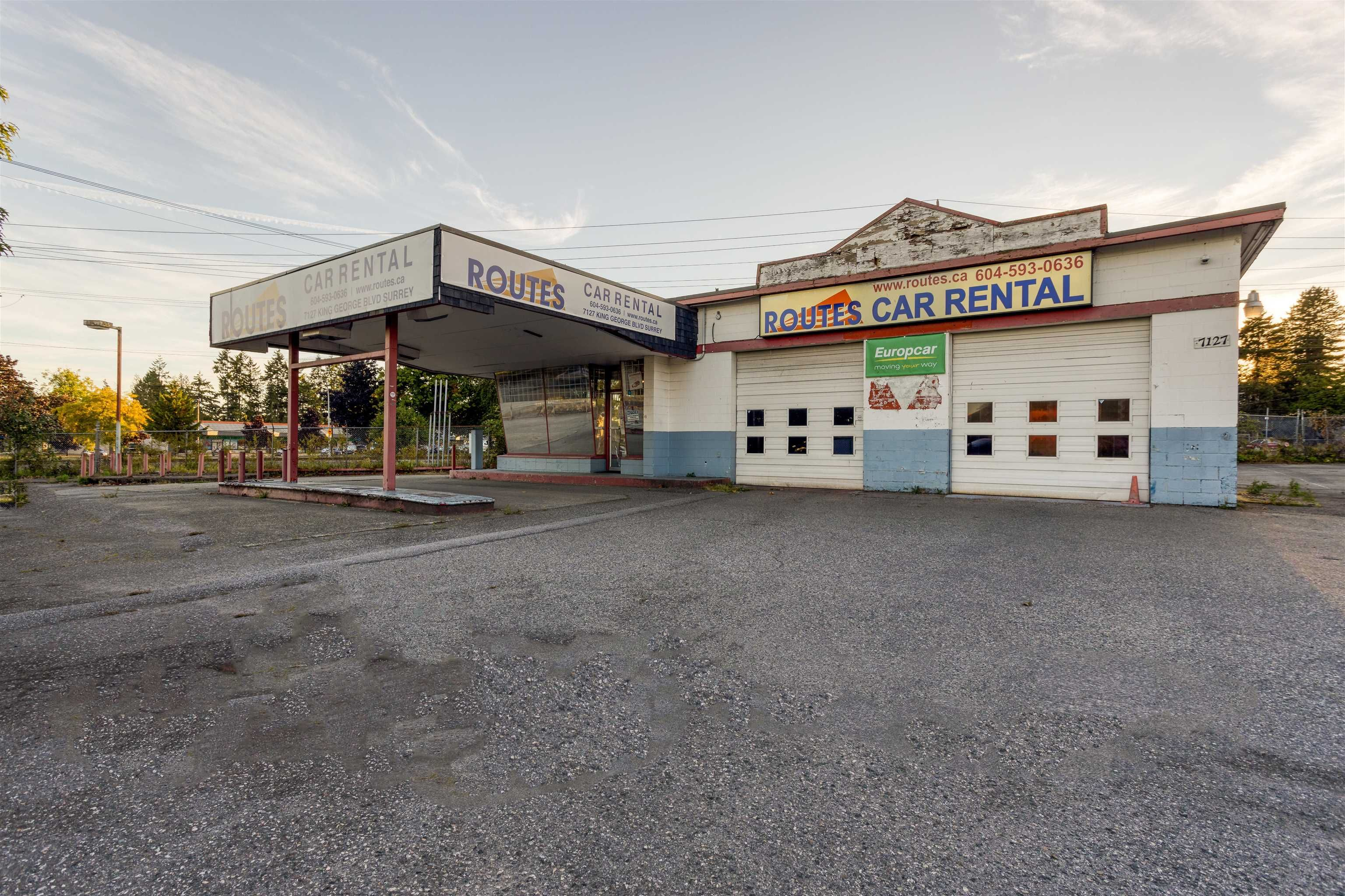 Main Photo: 7127 KING GEORGE Boulevard in Surrey: West Newton Land Commercial for sale : MLS®# C8040071