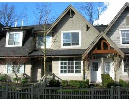 """Main Photo: 66 8415 CUMBERLAND PL in Burnaby: East Burnaby Townhouse for sale in """"ASHCOMBE"""" (Burnaby East)  : MLS®# V573263"""
