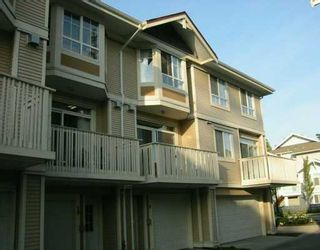 """Photo 1: 9079 JONES Road in Richmond: McLennan North Townhouse for sale in """"THE PAVILIONS"""" : MLS®# V614899"""