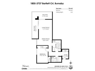"""Photo 23: 1805 3737 BARTLETT Court in Burnaby: Sullivan Heights Condo for sale in """"TIMBERLEA - THE MAPLE"""" (Burnaby North)  : MLS®# R2621605"""