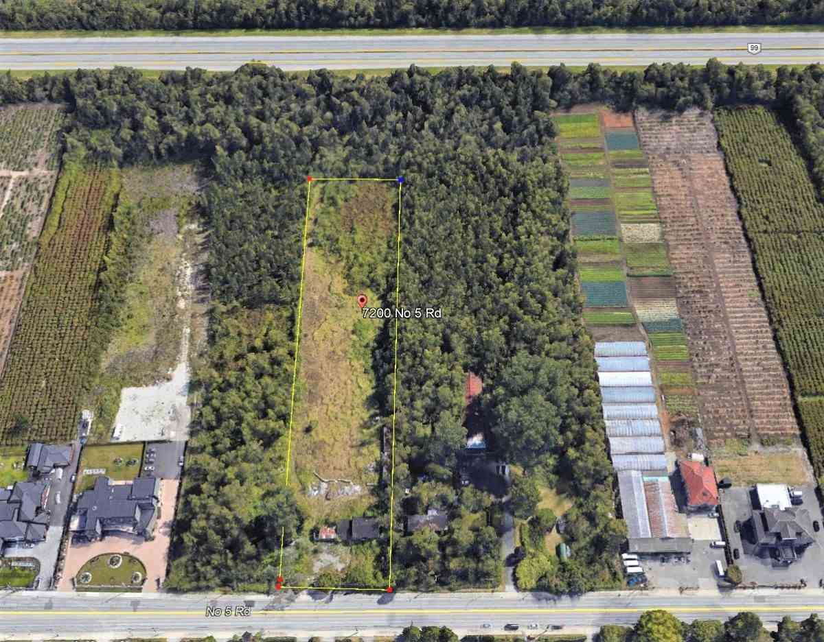 Main Photo: 7200 NO. 5 Road in Richmond: McLennan Land for sale : MLS®# R2454726