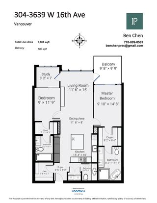 """Photo 2: 304 3639 W 16TH Avenue in Vancouver: Point Grey Condo for sale in """"The Grey"""" (Vancouver West)  : MLS®# R2611859"""