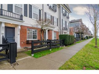 "Photo 1: 77 18983 72A Avenue in Surrey: Clayton Townhouse for sale in ""KEW"" (Cloverdale)  : MLS®# R2425839"
