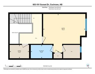 Photo 49: 603 101 SUNSET Drive: Cochrane Row/Townhouse for sale : MLS®# A1031509