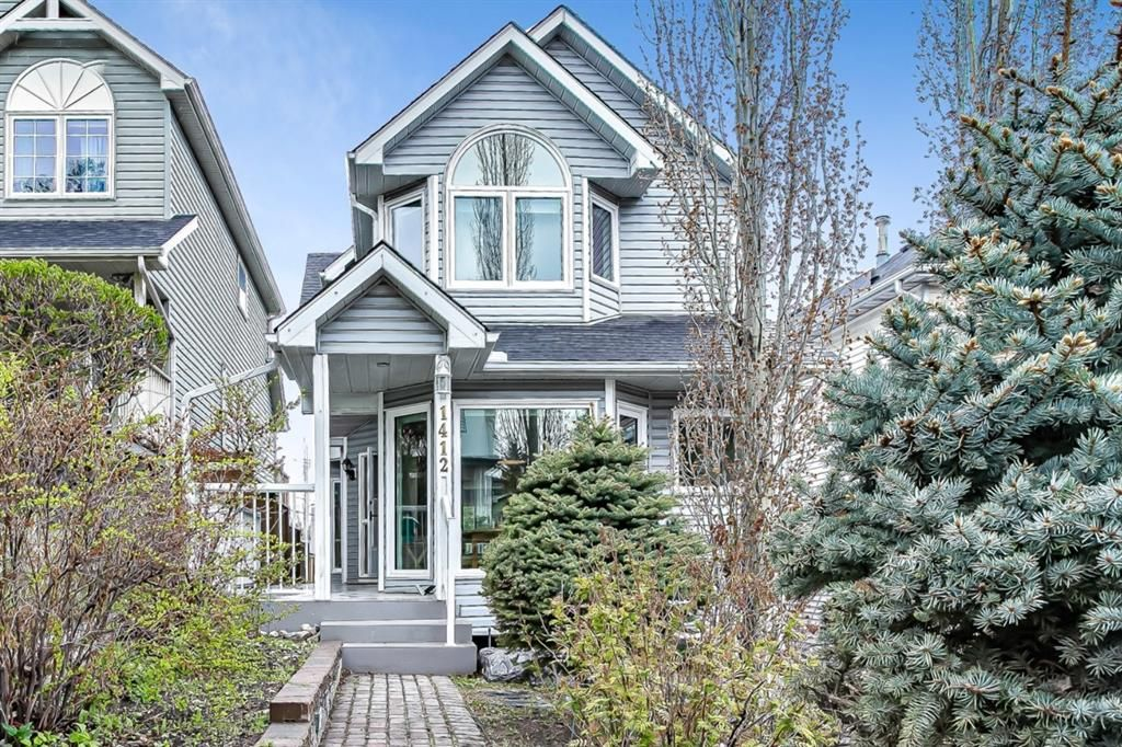 Main Photo: 1412 22 Avenue NW in Calgary: Capitol Hill Detached for sale : MLS®# A1106167