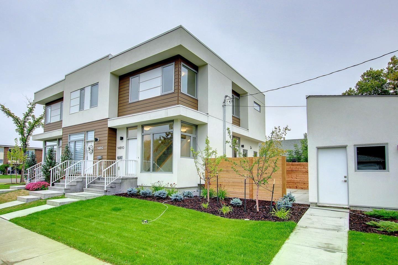 Main Photo: 14810 98 Avenue in Edmonton: Zone 10 Townhouse for sale : MLS®# E4261072