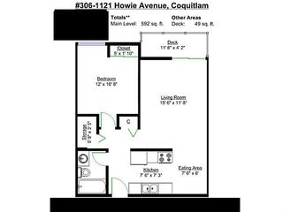 Photo 11: 306 1121 HOWIE AVENUE in Coquitlam: Central Coquitlam Condo for sale : MLS®# R2023398