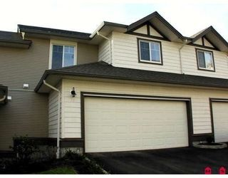 """Photo 1: 74 4401 BLAUSON BLVD in ABBOTSFORD: Abbotsford East Townhouse for rent in """"SAGE"""" (Abbotsford)"""