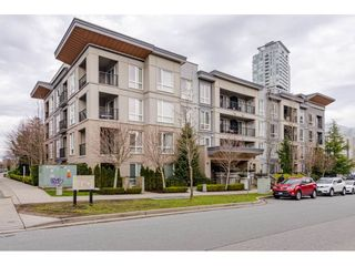 """Photo 1: 303 13339 102A Avenue in Surrey: Whalley Condo for sale in """"The Element"""" (North Surrey)  : MLS®# R2440975"""