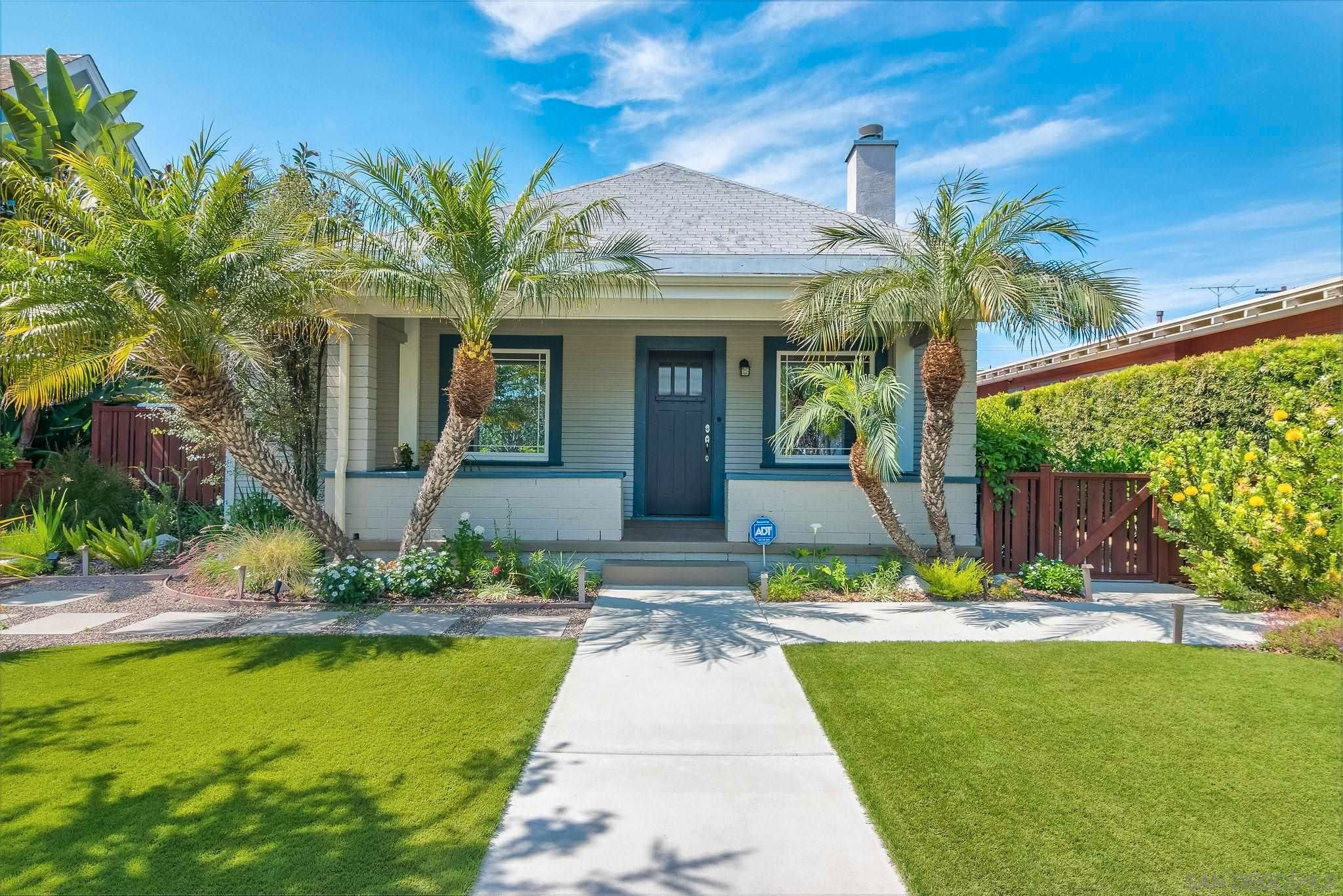 Main Photo: House for sale : 3 bedrooms : 1614 Brookes Ave in San Diego