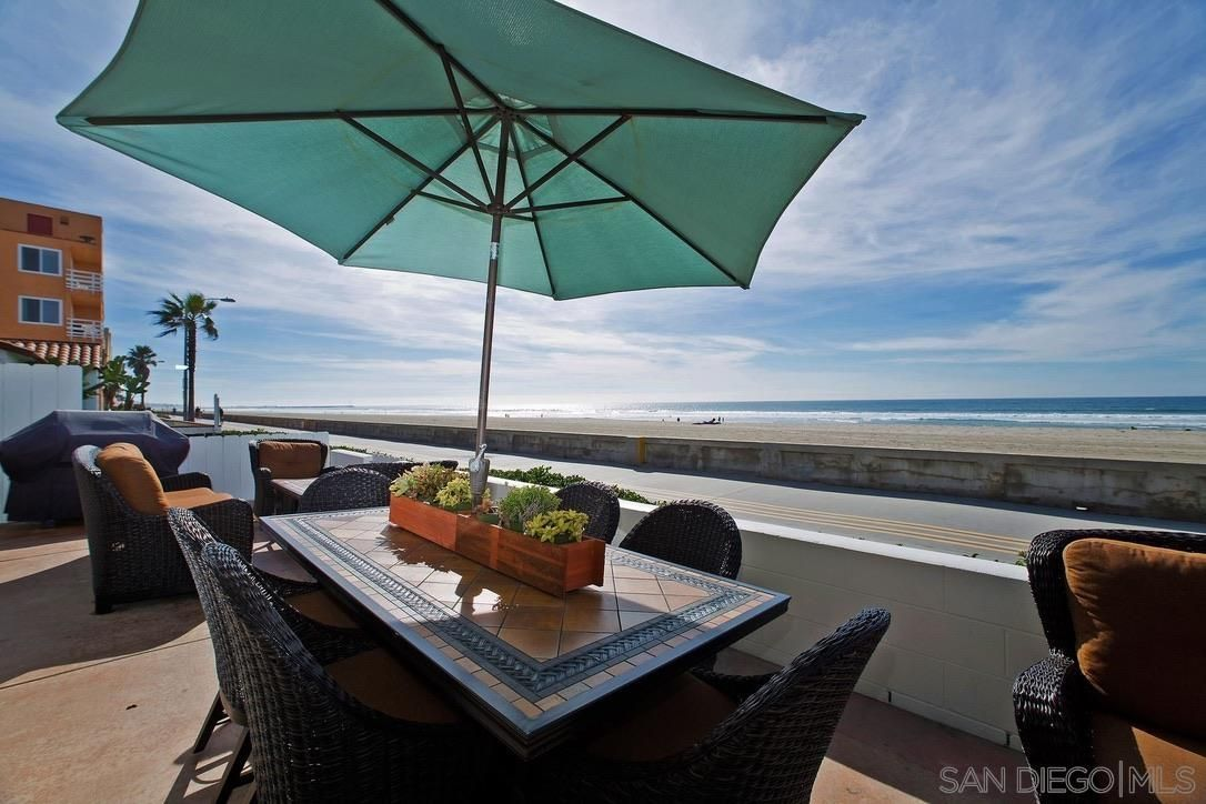 Main Photo: MISSION BEACH Condo for sale : 3 bedrooms : 3463 Ocean Front Walk in San Diego