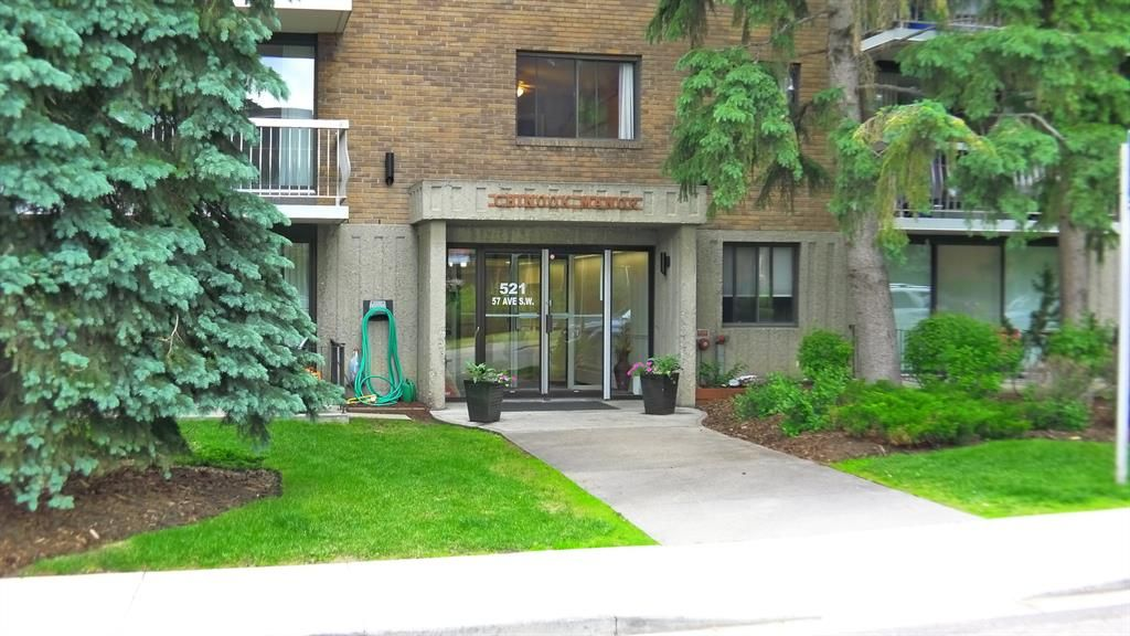 Main Photo: 304 521 57 Avenue SW in Calgary: Windsor Park Apartment for sale : MLS®# A1009068