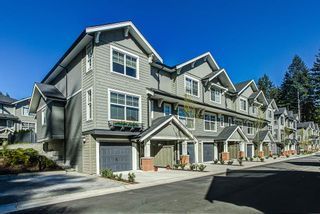 """Photo 1: 46 3461 PRINCETON Avenue in Coquitlam: Burke Mountain Townhouse for sale in """"BRIDLEWOOD II"""" : MLS®# R2053768"""