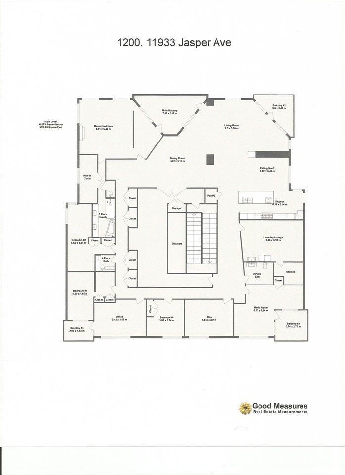 Photo 41: Photos: 1200 11933 JASPER Avenue in Edmonton: Zone 12 Condo for sale : MLS®# E4208205
