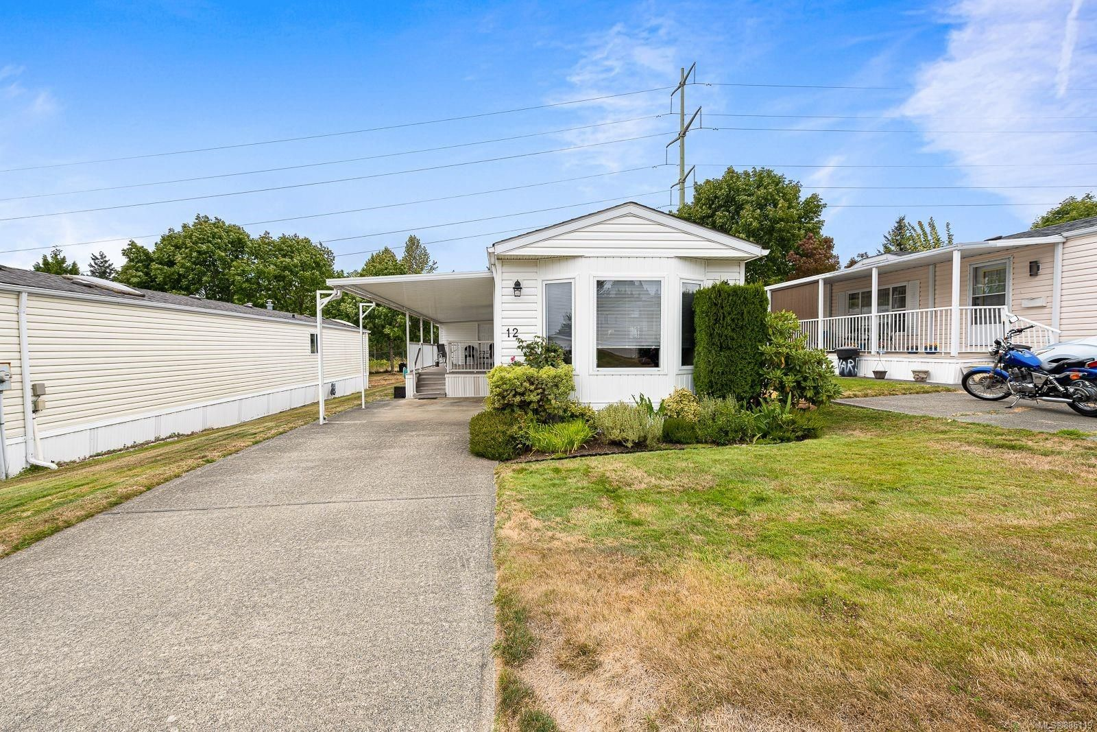 Main Photo: 12 4714 Muir Rd in : CV Courtenay City Manufactured Home for sale (Comox Valley)  : MLS®# 885119