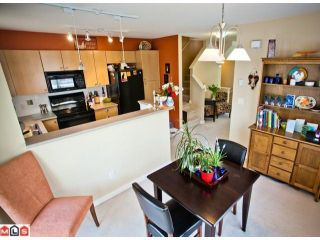 """Photo 5: 168 15236 36TH Avenue in Surrey: Morgan Creek Townhouse for sale in """"SUNDANCE"""" (South Surrey White Rock)  : MLS®# F1107820"""