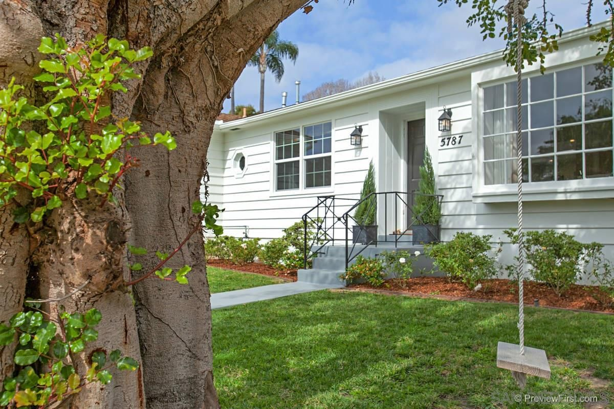 Main Photo: LA JOLLA House for rent : 3 bedrooms : 5787 Waverly Ave