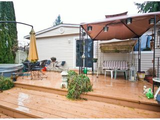 Photo 19: 31539 LOMBARD Avenue in Abbotsford: Poplar Manufactured Home for sale : MLS®# F1429021