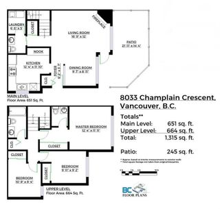Photo 20: 8033 CHAMPLAIN Crescent in Vancouver: Champlain Heights Townhouse for sale (Vancouver East)  : MLS®# R2121934