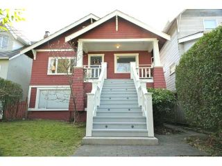 Photo 1: 276 W 18TH Avenue in Vancouver: Cambie House for sale (Vancouver West)  : MLS®# V934161