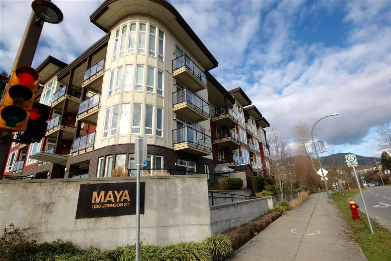"Main Photo: 108 1188 JOHNSON Street in Coquitlam: Eagle Ridge CQ Condo for sale in ""The Maya"" : MLS®# R2332994"