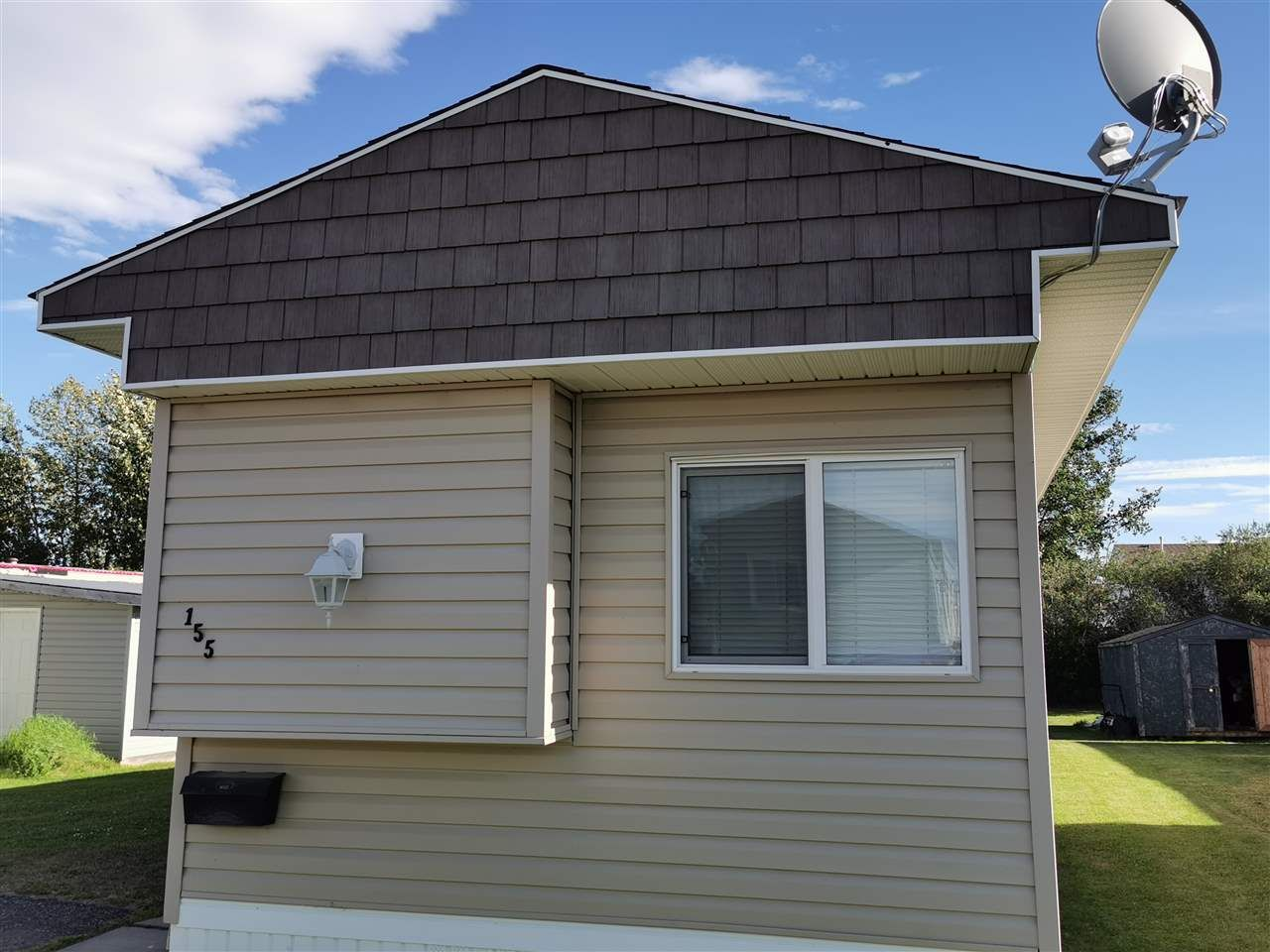 "Main Photo: 155 9207 82 Street in Fort St. John: Fort St. John - City SE Manufactured Home for sale in ""SOUTHRIDGE"" (Fort St. John (Zone 60))  : MLS®# R2515193"