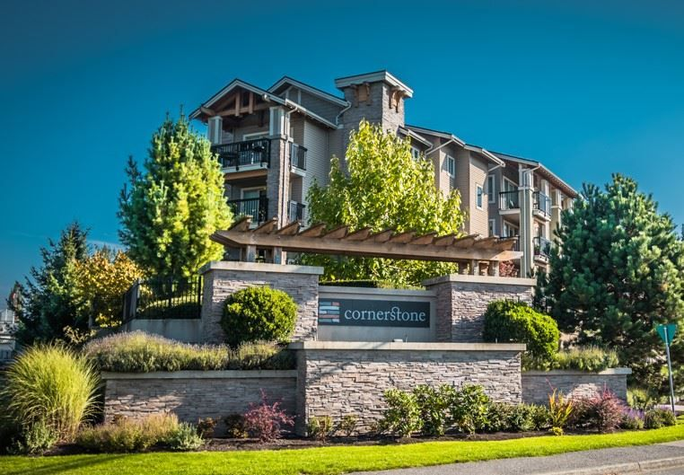 "Main Photo: 207 5655 210A Street in Langley: Salmon River Condo for sale in ""CORNERSTONE NORTH"" : MLS®# R2506248"